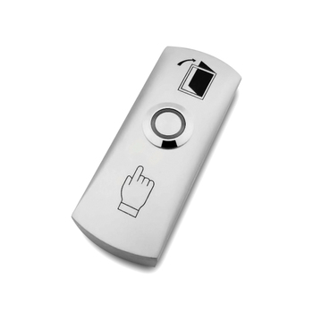 цена на ZINC ALLOY NO COM GATE DOOR Exit Button Exit Switch For Door Access Control System Door Push Exit Door Release Button Switch