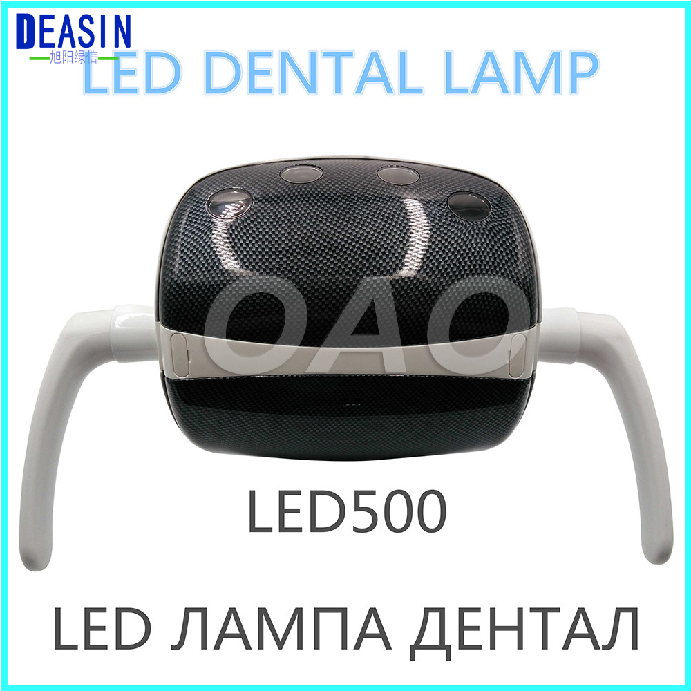 цены 2018 New Dental LED Oral Light Exam Surgical Lamp 4 LED Light for dental chair