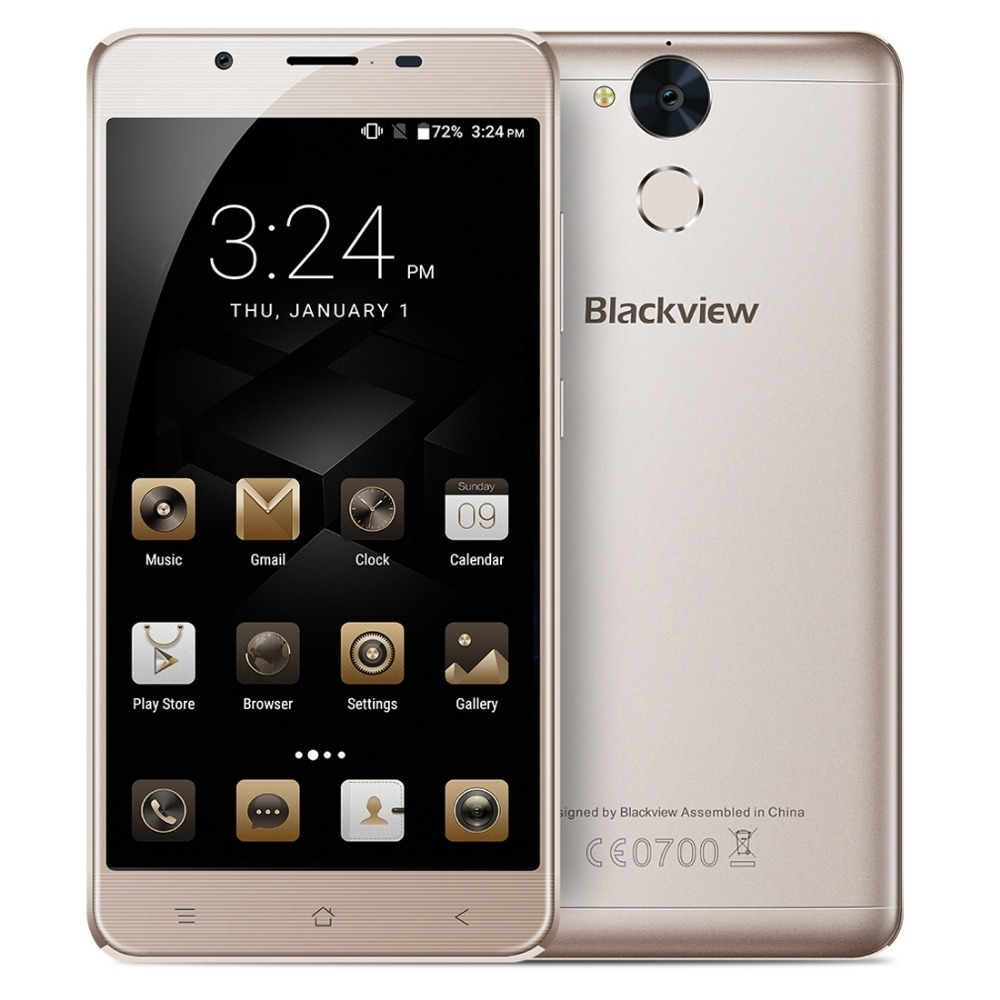 Blackview P2 Lite 4G Smartphone Android 7 0 32GB Phone MTK6753 Octa core 1 3GHz 5