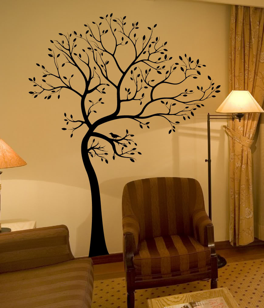 popular white tree wall decal buy cheap white tree wall decal lots large 72 55in black white 3d diy photo tree frame vinyl baby wall decals wall