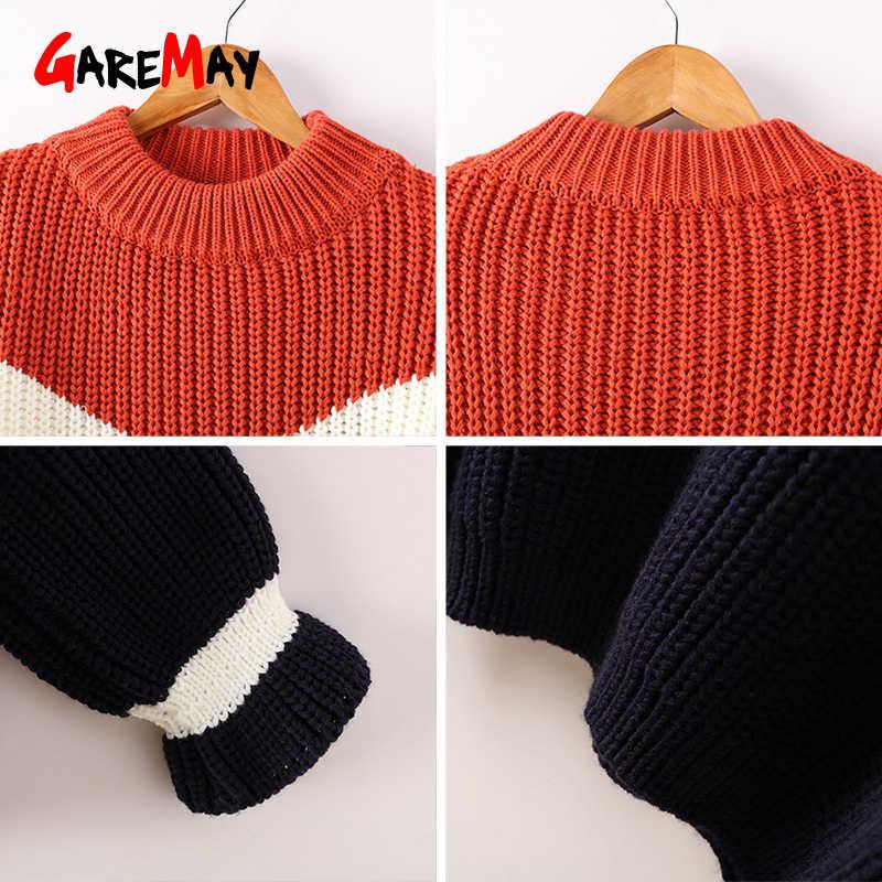 89657864885 ... Свитер оверсайз Для женщин свитера и Модные пуловеры Вязание толстые  свитера для Для женщин грубая вязаный