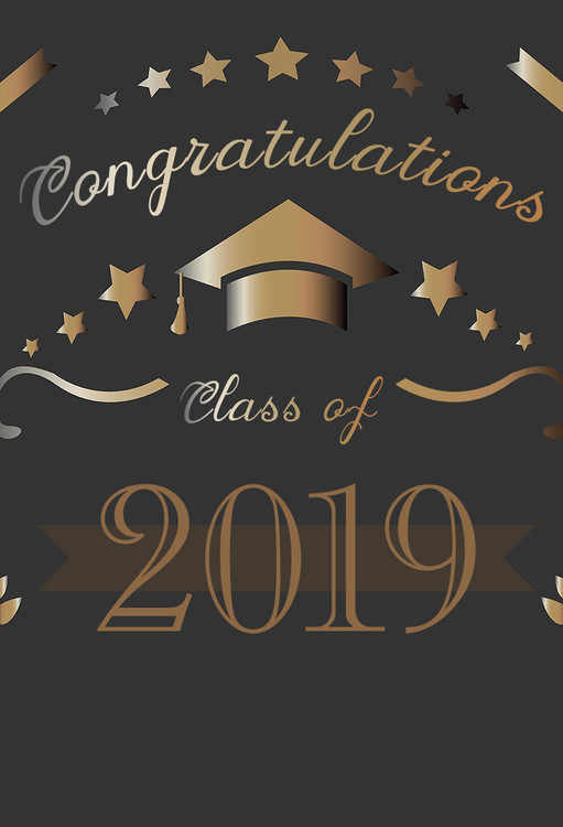 Sensfun Congratulations Graduation Class Of 2019 Backdrops ...