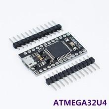 1pcs TENSTAR ROBOT With the bootloader Black Pro Micro ATmega32U4 5V/16MHz Module controller Mega32U4 mini leonardo