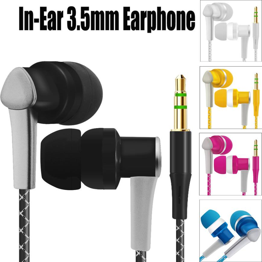 HIPERDEAL New Universal 3.5mm In-Ear Stereo Earbuds For Cell Phone Hot 18Apr05 Drop Ship universal nylon cell phone holster blue black size l