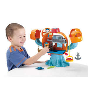 Image 2 - Octonautas figuras de acción de Ocean Adventure para niños, juguete educativo con música ligera, castillo del pulpo, regalo de cumpleaños