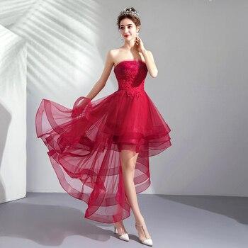Hsdyq Hogar Verano Rojo Sweetheart A Line Vestidos Simple