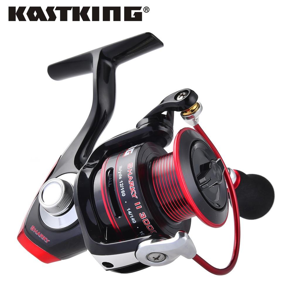 Prix pour Kastking 2017 nouvelle marque 100% résistant à l'eau pêche en eau salée bobine max drag 19 kg de carbone drag spinning reel pour bateau de pêche
