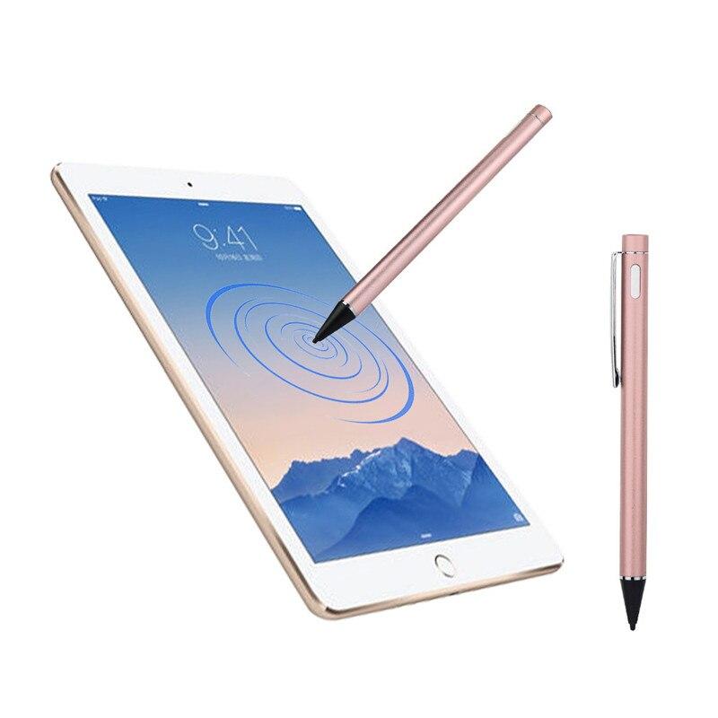 imágenes para Woweinew Pantalla Táctil Lápiz óptico Con Cable De Carga USB Para apple ipad 2/3/4 mini pro y aire libre gratis