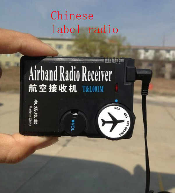 118MHz-136MHz air Airband Radio aviation band receiver for Airport Ground  ideamedia