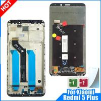 LCD Display For Xiaomi Redmi 5 Plus 10 Touch Screen Digitizer Replacement Repair Spare Parts For Redmi 5 Plus LCD with Frame