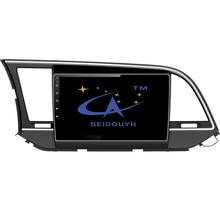 "BEIDOUYH 9"" Android car navigator audio stereo for HYUNDAI ELANTRA 2016 GPS navigation/Bluetooth/OBD2/DVR recorder/RDS Radio"