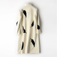 Мутон пальто женский пиджак Для женщин куртка пальто с мехом шерстяное пальто Для женщин зимние куртки с натуральным мехом Для женщин Мехов