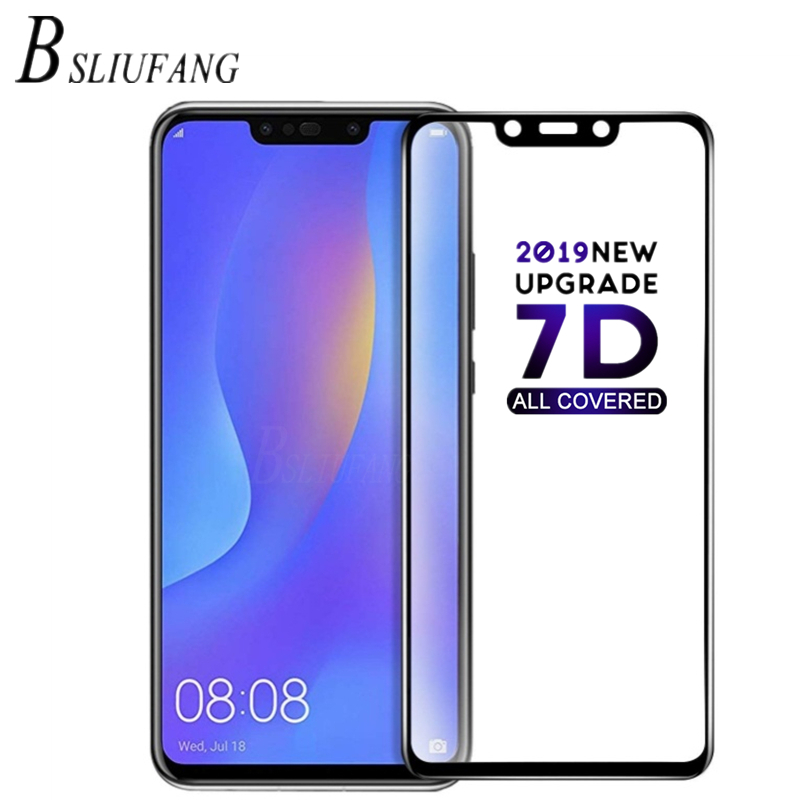 6D Full Cover Tempered Glass For Huawei P8 P9 P10 P20 Lite Pro Screen Protector
