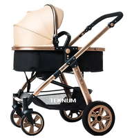 2 in 1 baby Stroller high landscape Baby Stroller Two way Cabarets Suspension Wheel folding bb Car newborn baby carriage