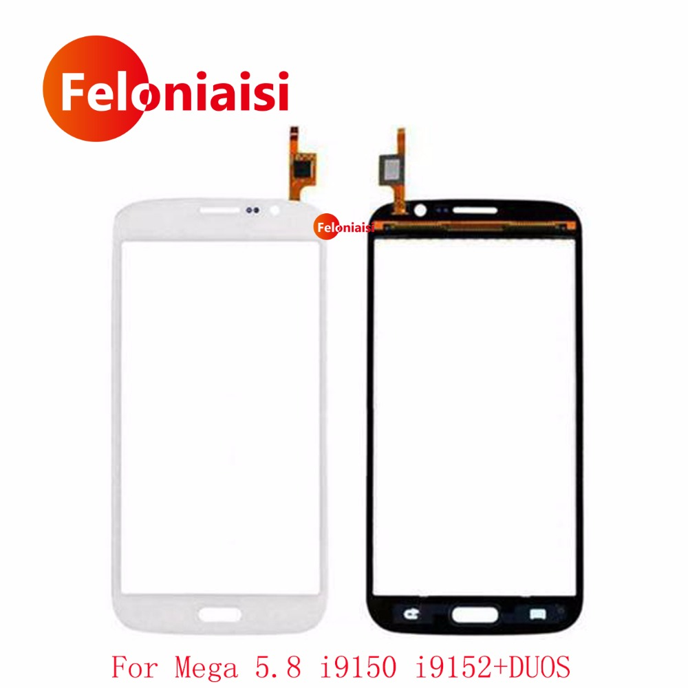 5.8 For Samsung Galaxy Mega 5.8 i9150 GT-i9150 GT-i9152 i9152 Touch Screen Digitizer Sensor Outer Front Glass Lens Panel