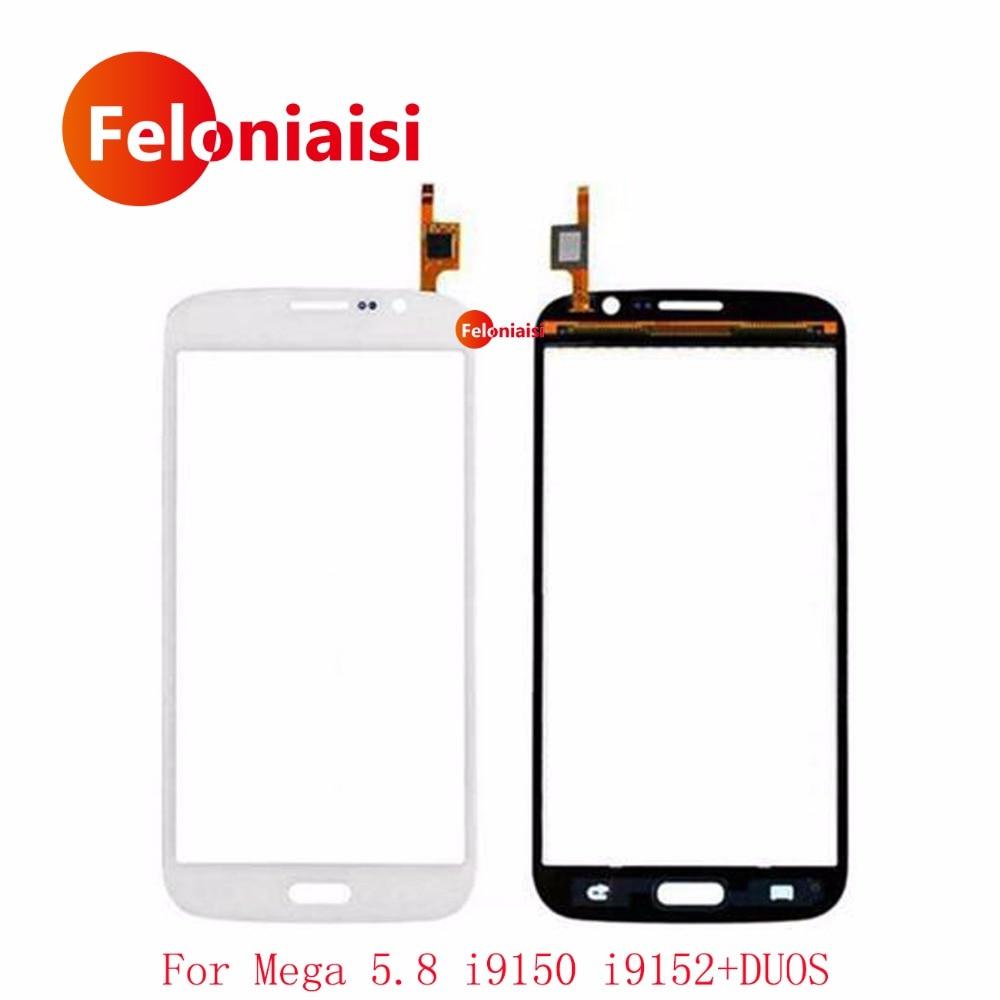 5.8 For Samsung Galaxy Mega 5.8 i9150 GT-i9150 GT-i9152 i9152 Touch Screen Digitizer Sensor Outer Front Glass Lens Panel