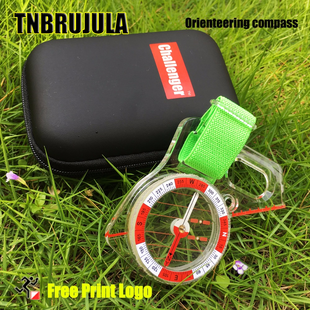 thumb orienteering compass professional outdoor orienteering oross-country outdoor treasure hunting strong magnetic compass