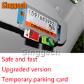Car Styling Carring Bag For Volkswagen VW Polo Passat B5 B6 CC Golf 4 5 6 7 Touran T5 with car stickers Temporary Parking Card