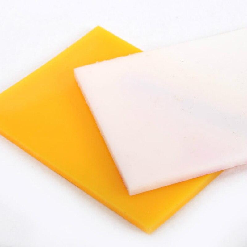Ручной работы из кожи, ремесла Инструменты DIY Резка доска резиновая специальное тиснение Pad Пробивание защиты площадки пластины плоские с 20*...