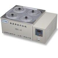 HH 4 цифровой лаборатория термостатический водяная баня четыре отверстия электрическое отопление 220 В лабораторные материалы