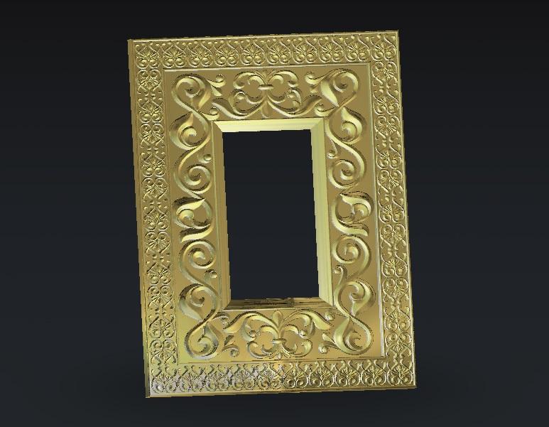 Aliexpress buy frame d model in stl format cnc
