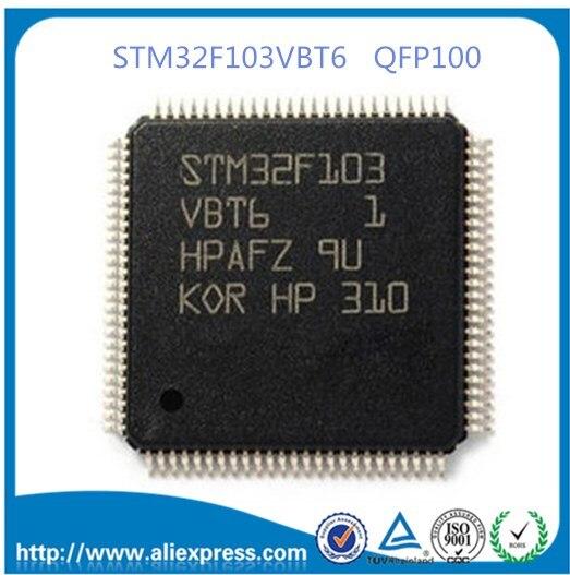 STM32F103VBT6 32 битный микроконтроллер CORTEXM3 128K флэш микроконтроллер