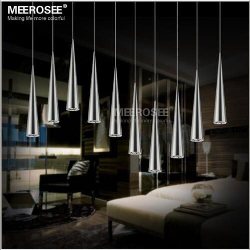Modern LED Chandelier Light Fixture Acrylic DIY LED Hanging Suspension Lamp For Restaurant Dinning room Home Drop Lighting