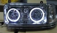 eOsuns headlight assembly for Toyota Land Cruiser LC80 FJ80 FZJ80 4500 1991 1997