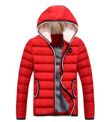 The New Winter Coat Jacket Mens hooded male Korean men warm cotton coat tide
