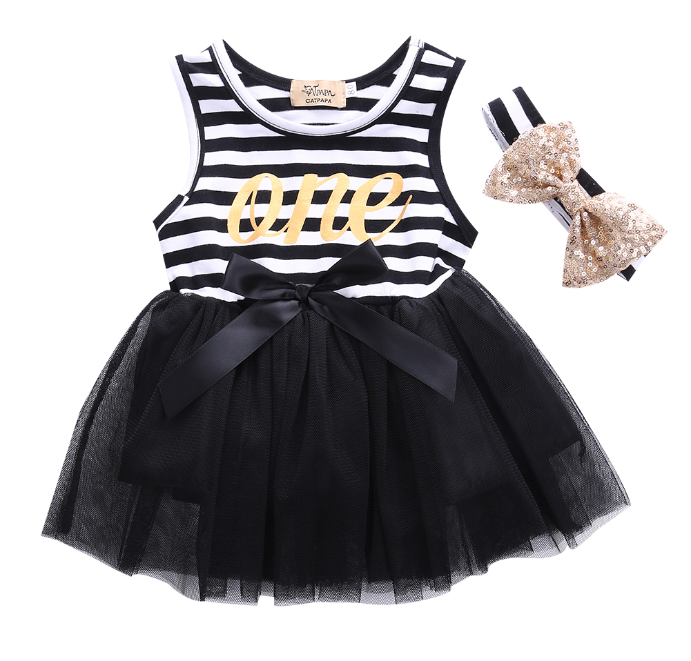 Compare prices on baby party dresses uk online shoppingbuy low 2017 fashion newest flower girl dress baby striped bow party dress sleeveless tulle tutu dresses bandage dhlflorist Gallery