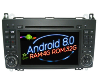 Octa 8 Core Android Car Dvd Player Gps FOR Mercedes Benz A160 W169 B200 W254 Navi