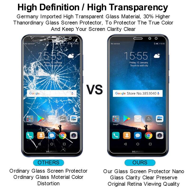 1PCS Screen Protector Glass For Huawei Nova 2i Tempered Glass For Huawei Nova 2i Glass Anti scratch Film nova 2i in Phone Screen Protectors from Cellphones Telecommunications