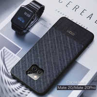 For Huawei Mate 20 Pro Case Mofi For Huawei Mate 20 Case Cover Suit Cloth Fabrics Dark Business Mate 20 Pro For Huawei Mate20Pro