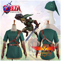 (W0510) The Legend of Zelda Link Cosplay Costume without Pants