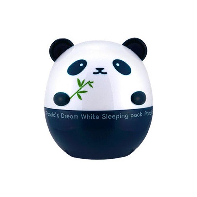 הטוב ביותר קוריאה קוסמטיקה טיפוח עור חלום שינה לבנה חבילה 50 גרם של פנדה פנים שינה מסכת לחות הלבנת