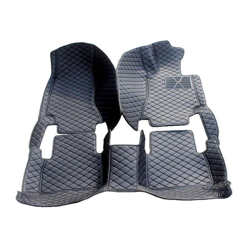 Alfombrillas personalizadas especiales para el suelo de coche para Ford Edge Escape Kuga Fusion Mondeo Ecosport explorador Fiesta alfombra liners