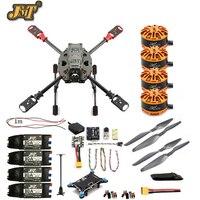 JMT DIY 2,4 ГГц 4 Aixs самолета RC Multicopter АРФ 630 мм рама комплект Радиолинк мини PIX + GPS безщеточный ESC высота Удержание