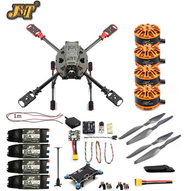 JMT DIY 2.4GHz 4-Aixs Aircraft RC Multicopter ARF 630mm Frame Kit Radiolink MINI PIX+GPS Brushless Motor ESC Altitude Hold