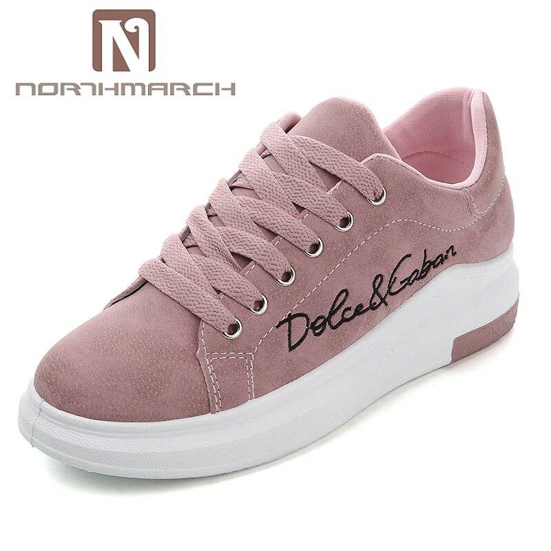 NORTHMARCH Luxury Sneakers Women New Platform Sneakers Women Comfortable Casual  Shoes Woman Vulcanized Shoes Dames Schoenen 1d5ae26e0c16