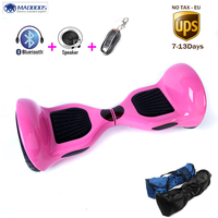 MAOBOOS Hoverboard 10 inch Smart Self Balancing scooter two wheels ES Stock Led light intelligent gyroscope electric hover board