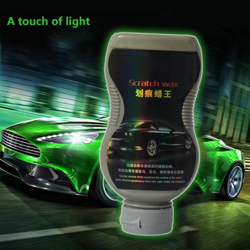 300mL Car Vehicle Care Paint Polishing Wax Auto Surface Protection Scratch Repair Gloss Polish Wax with Sponge