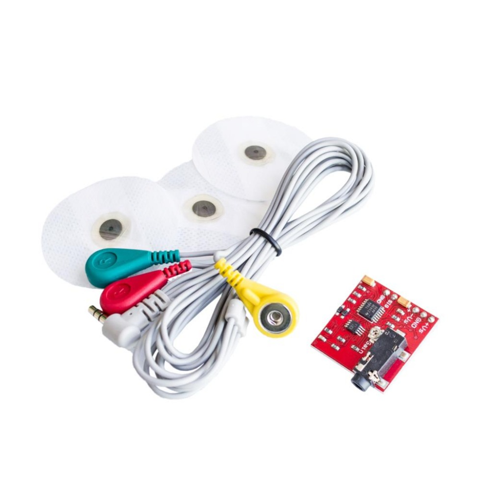 <font><b>Ecg</b></font> Module AD8232 <font><b>ecg</b></font> Measurement Pulse Heart Monitoring Sensor Module kit Heart Rate Pulse Sensing DIY For <font><b>Arduino</b></font> image