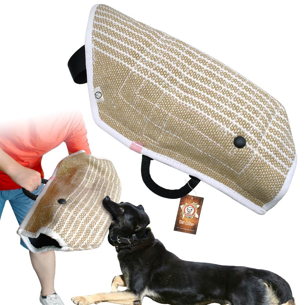 Adiestramiento De Perros Mordida Mangas De Brazo Equipo De Adiestramiento De Perros Funda Protectora Protecci/ón De Brazo Para Protecci/ón De Brazo De Mano Izquierda Y Derecha Deportes Para Perros