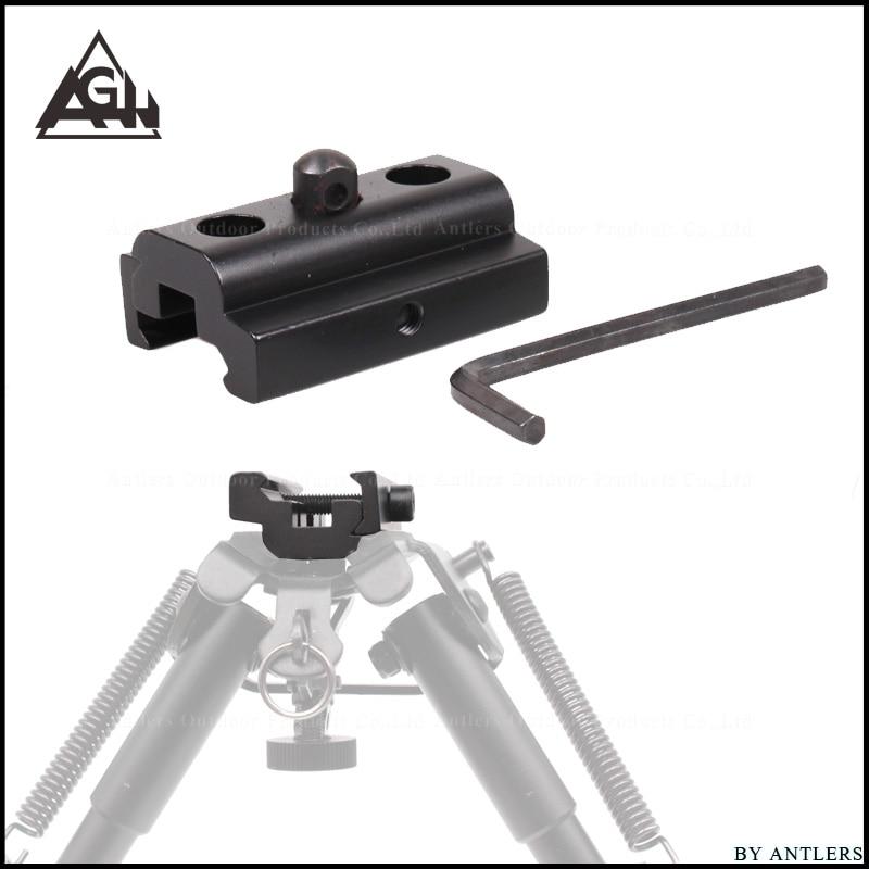 Paintball Pcp Rifle Rail Adapter 20mm Outdoor Sports Tripod Bipod Sniper Butterfly Bracket Universal Folding CS War Gun Shooting