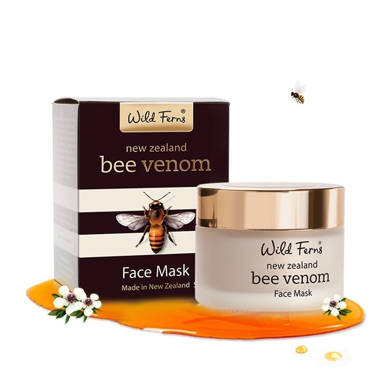 Genuine NewZealand Parrs Bee Venom Face Mask Manuka Honey Moisturizing face cream Face Lift Anti Aging cream Tighten &Firm skin-in Treatments & Masks from Beauty & Health    1
