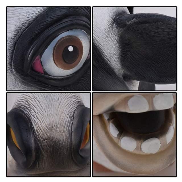 Halloween Latex Cow Mask