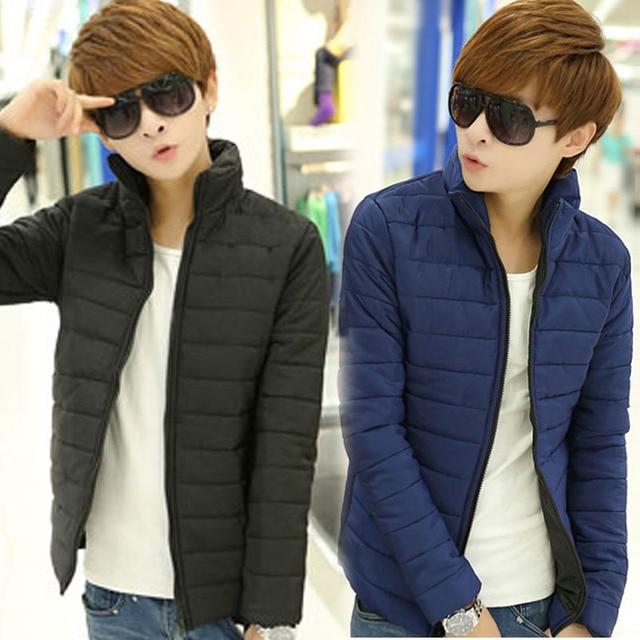 1e5b9d240 Hot Sale Men Winter Jacket Korean Style Slim Fit Fashion Warm Thick ...