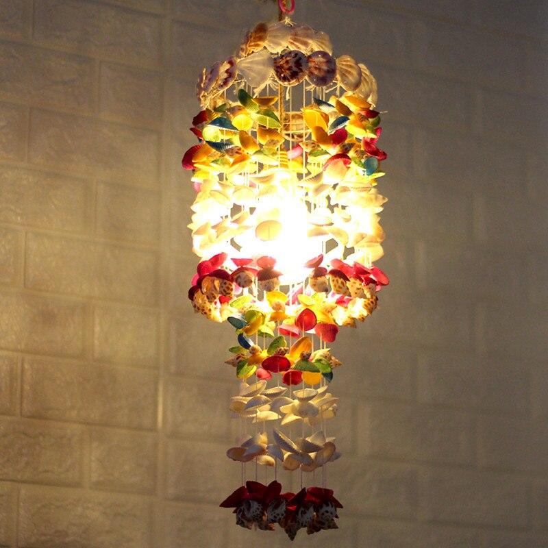 Coquille vent carillons extérieur fait à la main nordique attrapeur de rêves décoration murale enfants chambre verre cloche décor pépinière musique vent attrape