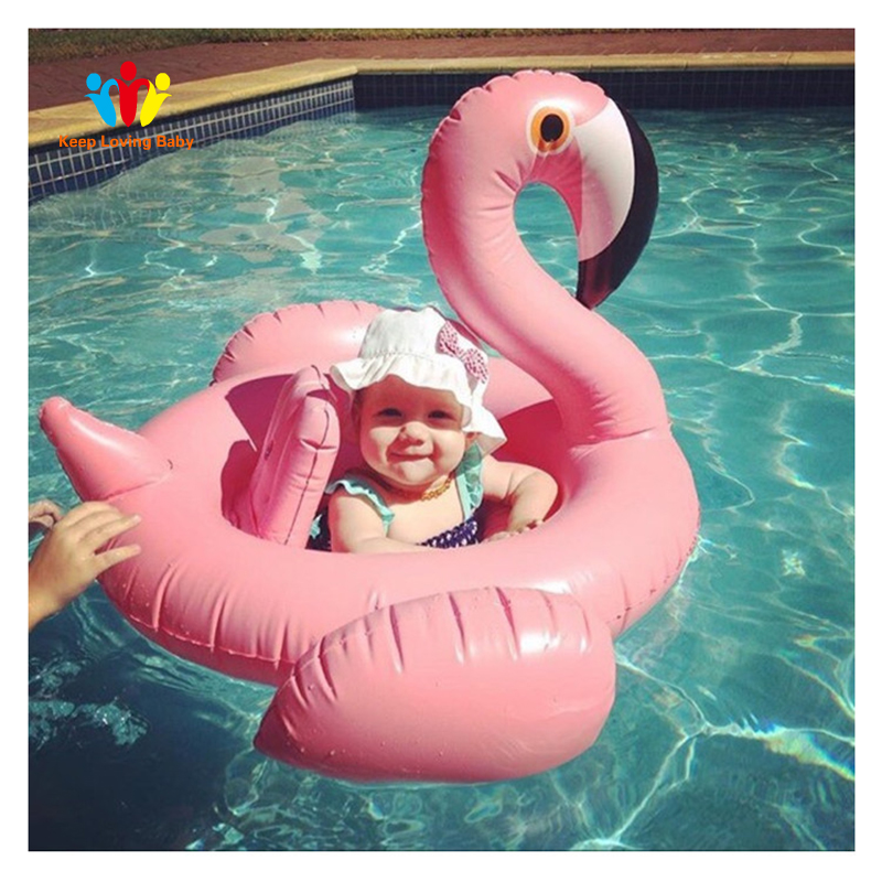 Inflatable Flamingo Swimming Accessori Baby Summer Water Fun Pool Toy Kids Swimming In The Pool Toys Kids Swimming Accessories 100% Guarantee