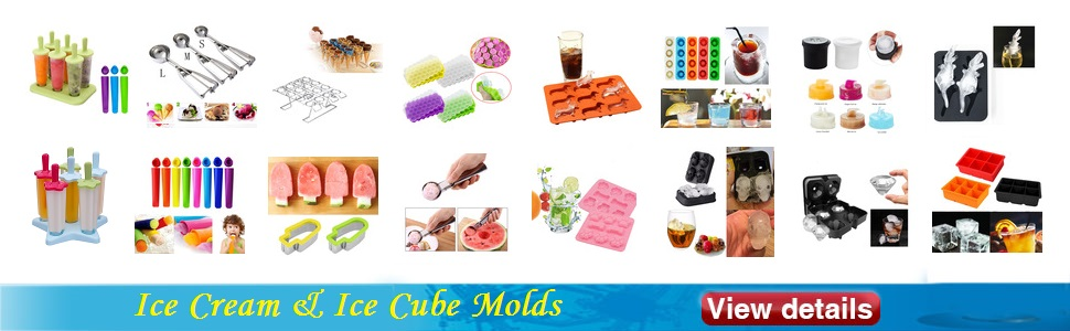 Ice Cream & Ice Cube Mold